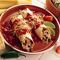 Wisconsin Pepper Jack and Smoked Turkey Enchiladas