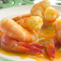 Florida Orange Glazed Shrimp