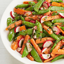 Glazed Spring Vegetables